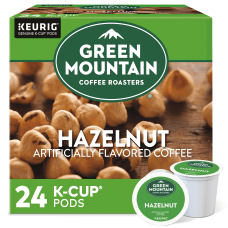 Green Mountain Coffee Hazelnut Coffee Single