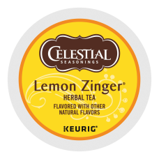 Celestial Seasonings Lemon Zinger Tea Single