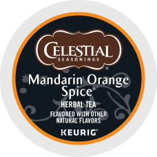 Celestial Seasonings Mandarin Orange Tea Single