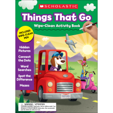 Scholastic Things That Go Wipe Clean