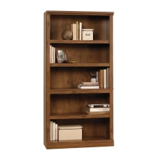 Sauder Select Bookcase 5 Shelf Oiled