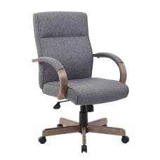 Boss Office Products Modern Ergonomic Executive