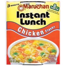 Maruchan Chicken Flavor Instant Lunches 225