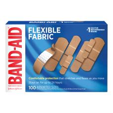 Band Aid Brand Flexible Fabric Adhesive