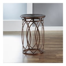 FirsTime Co Marquise Side Table Round