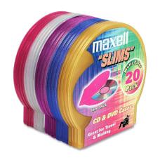 Maxell CD 355 Jewel Cases Jewel