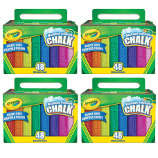 Crayola Washable Sidewalk Chalk Sticks Assorted