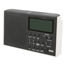 GPX Portable Shortwave R616W AMFM Radio