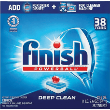 Finish Powerball Dishwasher Tabs Tablet 38