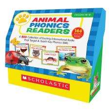 Scholastic Res Grade K 2 Animal