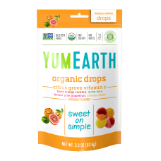 Yummy Earth Organic Vitamin C Citrus
