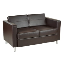 Ave Six Pacific Loveseat EspressoChrome
