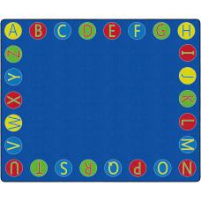 Flagship Carpets Alphabet Circles Rug 10