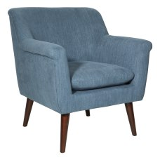 Office Star Dane Accent Chair Blue