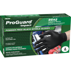 Impact ProGuard Disposable Nitrile Gloves Powder