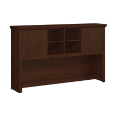 Bush Furniture Yorktown Hutch Antique Cherry
