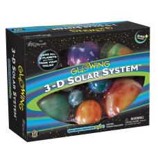 Great Explorations Glowing 3 D Solar