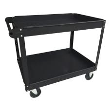 Lorell 2 Shelf Utility Cart 16