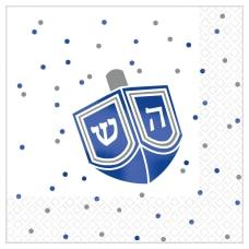 Amscan Premium Hanukkah 2 Ply Beverage