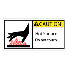 Tape Logic Durable Rectangle Safety Labels