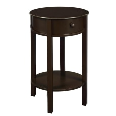 Ameriwood Home Tipton Accent Table Round