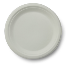 Stalk Market Compostable Round Plates 9