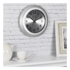FirsTime Co Sleek Round Wall Clock