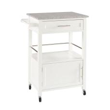 Linon Clark Granite Top Kitchen Cart