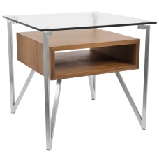Lumisource Hover Contemporary End Table Square