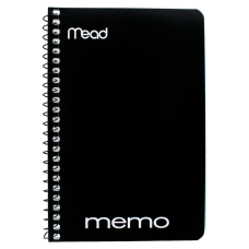 Mead Wirebound Side Opening Memo Book