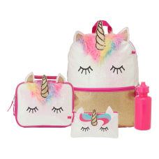 Accessory Innovations 4 Piece Unicorn Backpack