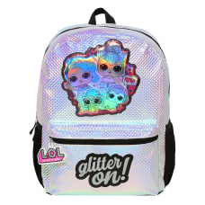 Accessory Innovations LOL Glitter Backpack Silver