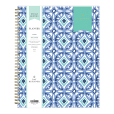 Blue Sky Day Designer WeeklyMonthly Planner