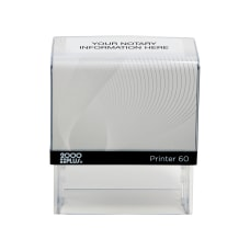Custom 2000 PLUS Self Inking Notary