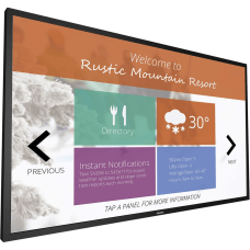 Philips Signage Solutions Multi Touch Display