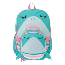 Accessory Innovations Sparkle Shark Backpack With