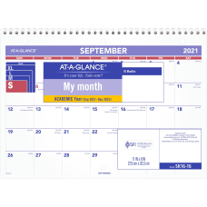 At A Glance Academic Monthly Wall
