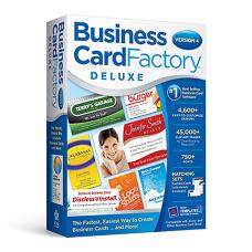 Nova Development Business Card Factory Deluxe
