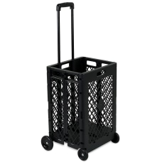 Mount It Mesh Rolling Utility Cart