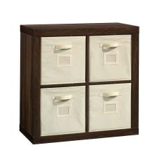 Sauder Stow Away 4 Cube Organizer