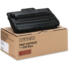 Ricoh 412660 Black Toner Cartridge Type