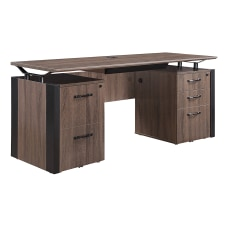 Forward Furniture Allure Double Pedestal Desk