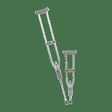 Medline Quick Fit Adjustable Crutches 47