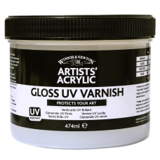 Winsor Newton Artists Acrylic UV Varnish