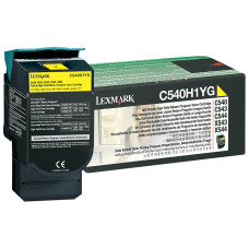 Lexmark C540H1YG Return Program Yellow Toner