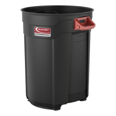 Suncast Commercial Round HDPE Utility Trash