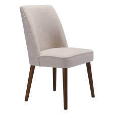 Zuo Modern Kennedy Chairs Beige Set