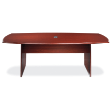 Realspace Broadstreet Conference Table Boat Shaped