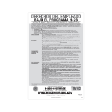 ComplyRight Federal Specialty Posters Employee Rights