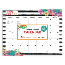 TF Publishing Monthly Academic Desk Pad